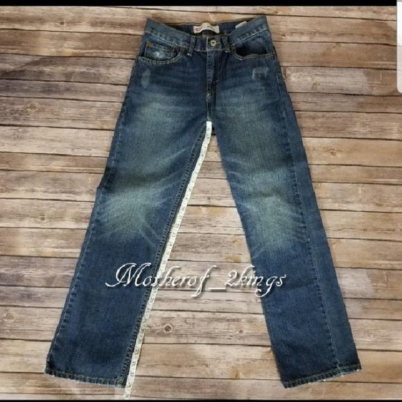 5268d1e6b46 Levi's Bottoms | Levis Blue 514 Straight Jeans | Poshmark